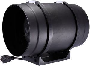 "8 "" Inch 735 CFM Inline Duct Fan Quite Inline Duct Booster for Ventilation"