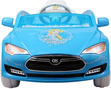 6V Disney Ride On Car Kids Electric Battery Power Ride-On Vehicle w 2.4GHz Remote Control Blue