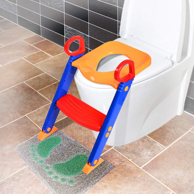 Baby Ladder Toilet Tools Potty Toilet Seat Step up Ladder Chair Toddler Toilet Trainer