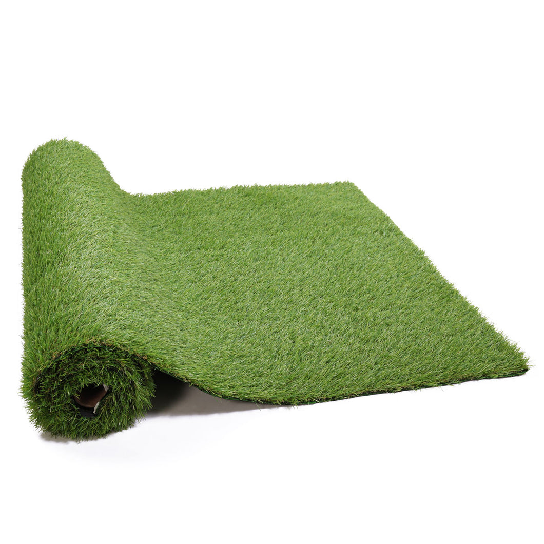 2 PCS 13 ft x 3.3ft Artificial Grass Mat Synthetic Landscape Soft Fake Turfs for Dogs Patios Lawn Garden Yard