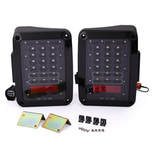 For 07-17 Jeep Wrangler LED Tail Light JK Rear Brake Reverse Turn Lamp US