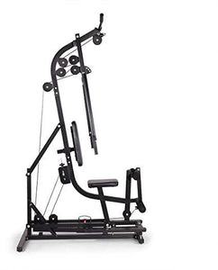 Black Home Gym Station Workout Machine for Total Body Training