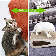 Cat Scratching Pad Post CardboardJumbo Cardboard Scratch Cat Scratcher Lounge House Bed Couch with Catnip