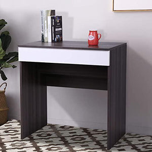 Dressing Vanity Table Chic Makeup Desk with Flip up Mirror Bedroom Dresser Table Jewelry Storage Ebony