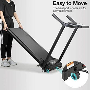 Electric Folding Fitness Treadmill Motorized Running Machine 2.0HP