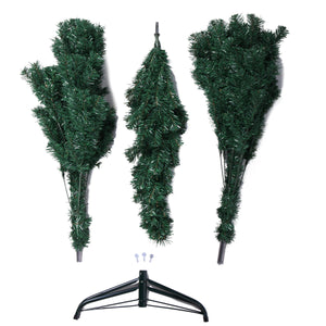 2020 Green  6Ft Artificial PVC Christmas Tree W/Stand Holiday Season Indoor Outdoor