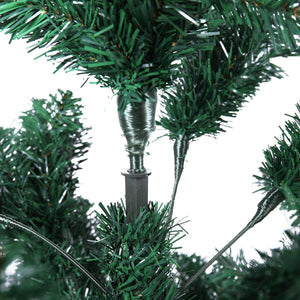 2020 7Ft Green Artificial PVC Christmas Tree Synthetic Christmas Tree Decoration  W/Stand Holiday Season Indoor Outdoor