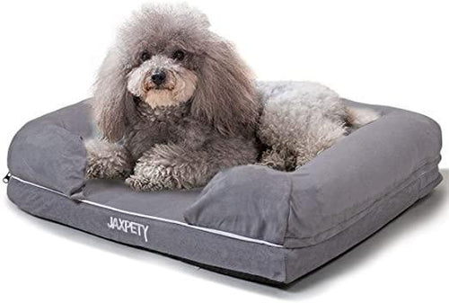 Lounge Dog Pet Bed Dog Bed wWashable Coverings Memory Foam