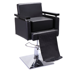 Barber Beauty Salon Spa Equipment Styling Chair Child Booster Seat Cushion Black