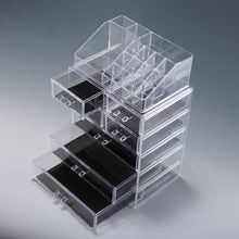 Cosmetic Storage Jewelry Boxes Makeup Organizer Acrylic Large Drawer Holder