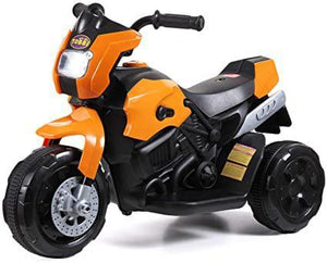 Motorcycle 6V Electric Ride-on 3 Wheel Battery Powered Bicycle for KidsOrange