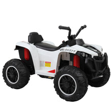 6V Electric Battery 4 Wheels Quad ATV Bicycle Toddler Ride-On Toy w Remote Control and Large Foot Pedal