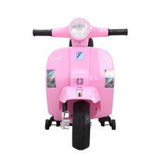 Electric Vespa Scooter 6V Ride On Motorcycle Toy for Kids