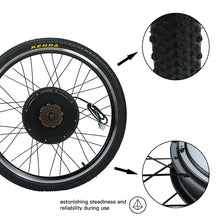 Rear Wheel Hub Motor Electric Bike Conversion Kit 1500W 48V