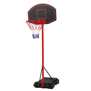 Youth Portable Height-Adjustable Basketball Backboard