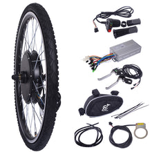 "26"" 48V 1000W Ebike Front Wheel Electric Bicycle Motor Conversion Kit Motor Hub"