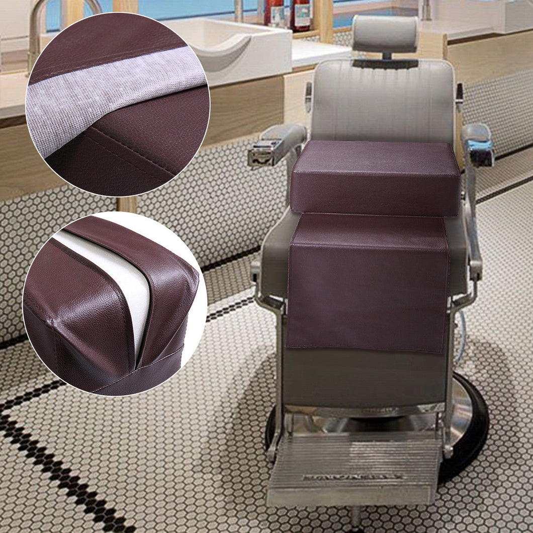 Barber Beauty Salon Spa Equipment Styling Chair Child Booster Seat Cushion Brown