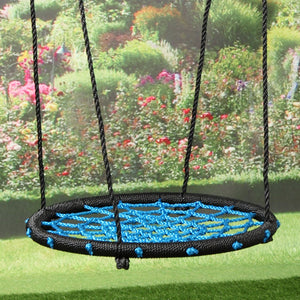 "24"" Tree Saucer Swing Playground Platform Swing Flyer Nylon Rope Kid Outdoor Toy"