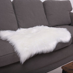 Faux Sheepskin Rugs Fluffy Mats Pad Sofa Bed Hairy Shaggy Floor Carpet Blanket