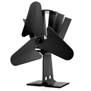 Heat Powered 3 Blade Stove Fan For Wood Log Burner Eco Quiet
