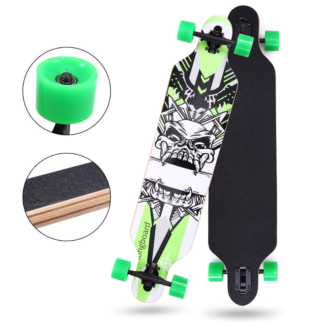 Professional Adult Skateboard Complete Wheel Trucks Maple Deck 41