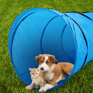Agility Training Tunnel Pet Open Equipment Dog Outdoor Obedience Exercise
