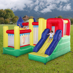 Inflatable Mighty Bouncer Bounce House Castle Kids Jumper Without Blower