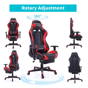 Ergonomic High Back Office Desk Chair Swivel PC Gaming Chair w/Lumbar Support