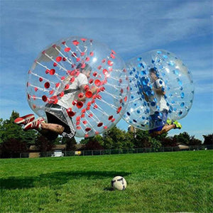 1.5M Human Knocker ball inflatable Bumper Bubble soccer Zorb Ball Blue