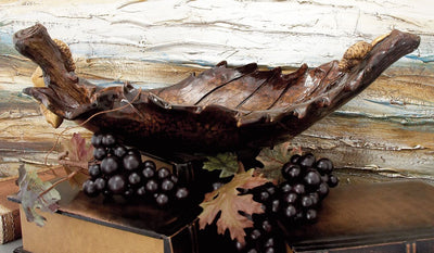 Decorative Leaf Bowl - Expo Home Decor Home Decor - home goods
