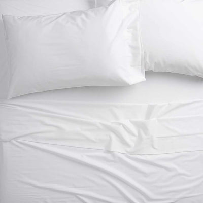 White 4pc Bed Sheet Set - Expo Home Decor sheets - home goods
