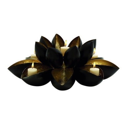 Lotus Metal Candle Holder - Expo Home Decor Home Decor - home goods