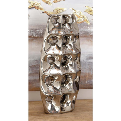 Modern Spouted Ceramic Vase - Expo Home Decor Home Decor - home goods