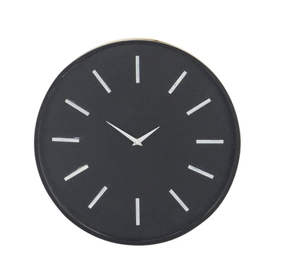 Black Round Clock - Expo Home Decor Home Decor,Clocks - home goods