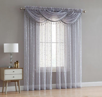 Adeline Rod Pocket Panel - Expo Home Decor Curtain - home goods