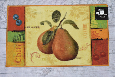 Pears Kitchen Rug - Expo Home Decor Kitchen Rug - home goods