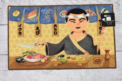 Sushi Chef Kitchen Rug - Expo Home Decor Kitchen Rug - home goods