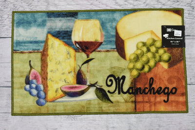 Wine & Cheese Kitchen Rug - Expo Home Decor Kitchen Rug - home goods