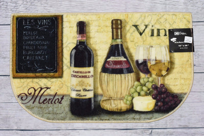 Wine Kitchen Rug - Expo Home Decor Kitchen Rug - home goods