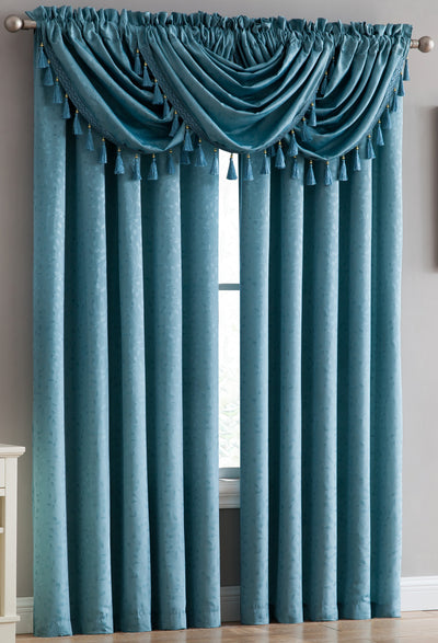 Kathryn Rod Pocket Panel - Expo Home Decor Curtain - home goods
