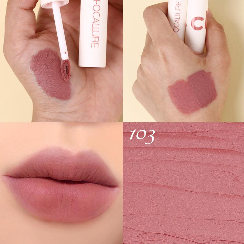 Clay matte liquid lipstick #103