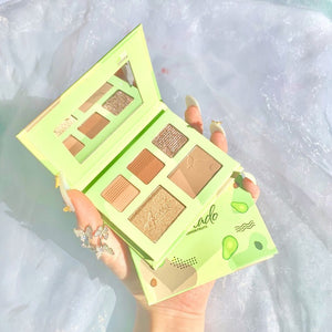 Fruit eyeshadow palette 5 colors #Avocado