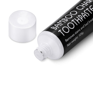 Activated Bamboo Charcoal Toothpaste - Teeth Whitening Natural