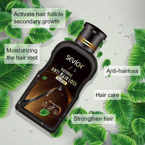 Anti-hair Loss Shampoo with Hair Growth Serum - 100% natural 200ml