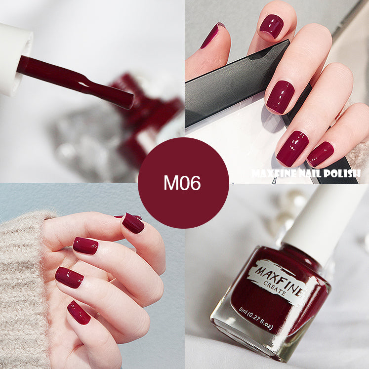 Fruity Nail Polish Color MAXFINE #M06