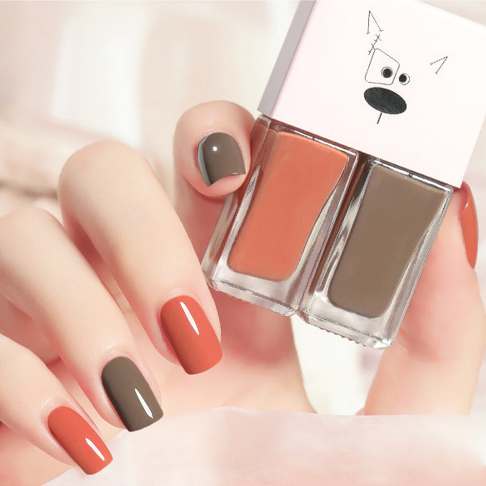 Cutie 2 in1 Nail Polish 2 colors #B21