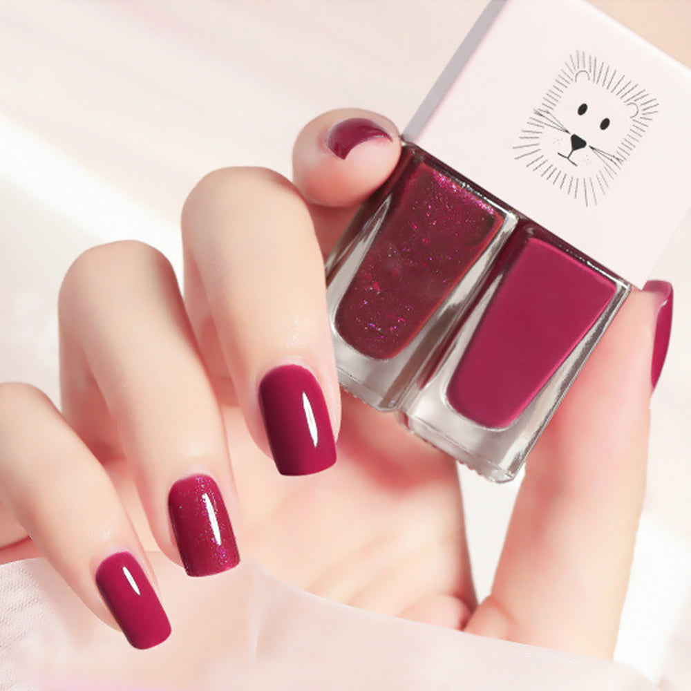 Cutie 2 in1 Nail Polish 2 colors #B24