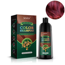 Red Hair color dye shampoo with natural argan oil - 250ml