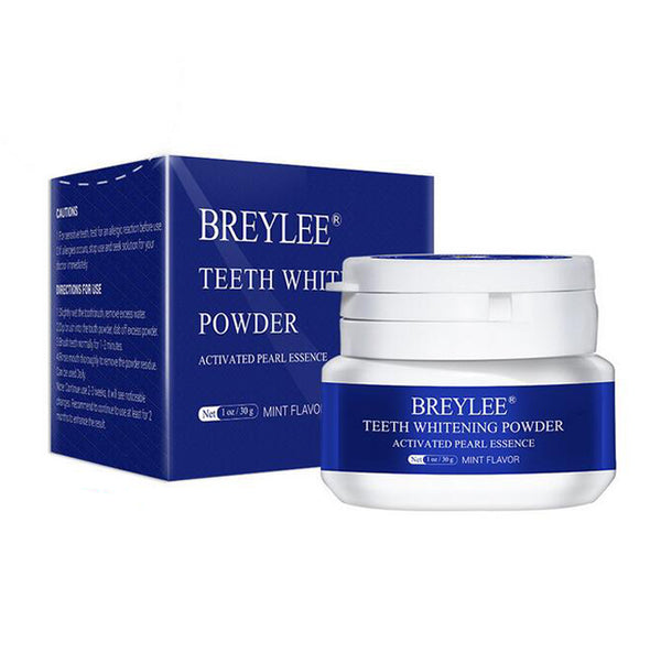 Teeth whitening powder BREYLEE pearl essence - Mint Flavor - 30g