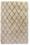 Diamond Ritz Shag Ivory